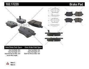 Disc-Brake-Pad-Set-C-TEK-Metallic-Brake-Pads-Rear-Centric-fits-14-18-Fiat-500L