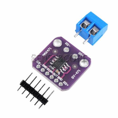1PCS MAX471 3A Current Sensor Module Consume Current Detection Module DC 0-3A