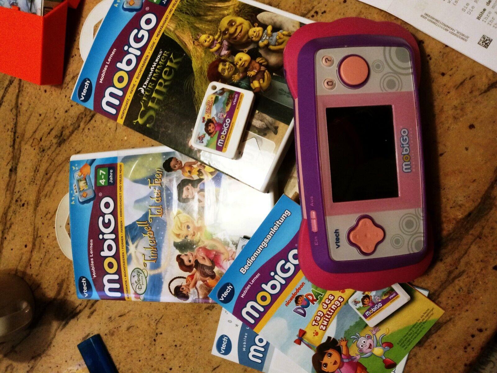 Mobigo mit mit mit Spiele kaum benutzt feaa1b