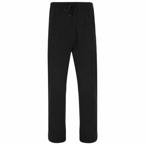 225 Kam RELAXED FIT Pesante da Uomo in Pile Jogging Bottoms