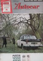 Autocar magazine 25/11/1960 featuring Peugeot 404 road test