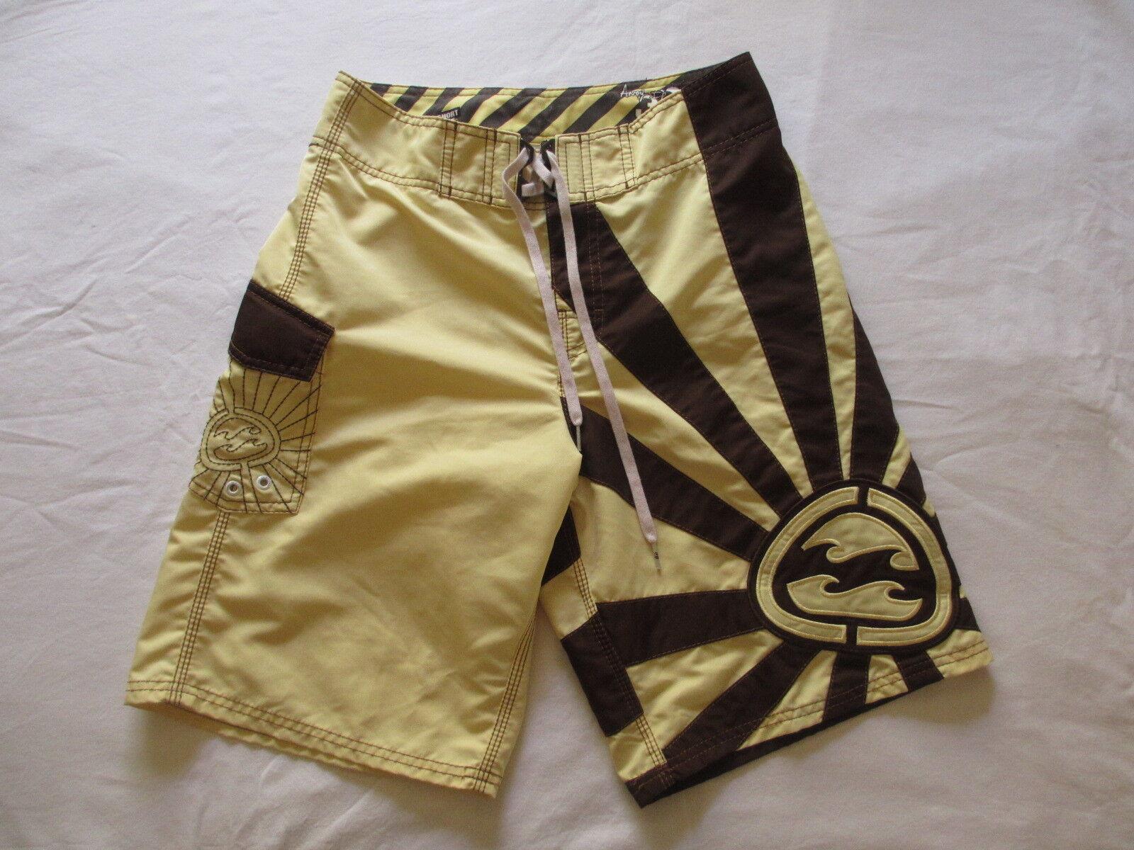 Billabong ANDY IRONS Rising Sun Mens Boardshorts Sz 28  VERY RARE COLOR COMBO