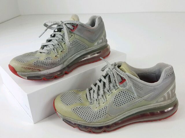 Nike 2013 Women's Airmax Limited Athletic Shoes Size 8 US Gray & Red 579585 006