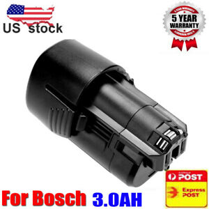12V-For-BOSCH-BAT411-10-8V-Lithium-Ion-3-0Ah-Battery-BAT413-BAT412A-BAT411A-NEW