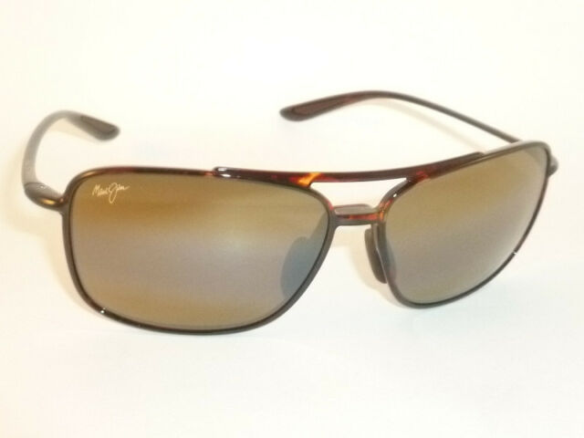 4b44aa2811a6 Authentic Polarized MAUI JIM KAUPO GAP Sunglasses Tortoise H437-10 Bronze  Lenses