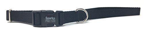 "Sparky PetCo 3//4/"" Universal Clip-N-Go Adjustable Nylon Dog Collars"