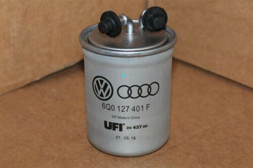 VW Audi Polo A1 Filtro De Combustible Diesel 6Q0127401F Nuevo Original VW Parte
