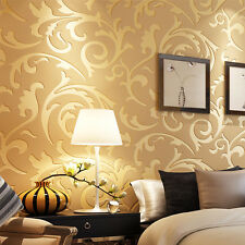 3D Embossed Textured Non-woven Wallpaper