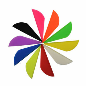 TPU-Vanes-Archery-Fletches-2-034-Blazer-Vanes-Arrow-Fletching-7-Colors
