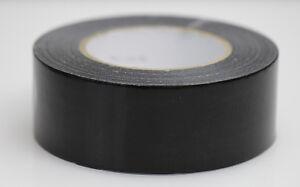 36xRollen-50mm-50m-Banda-de-tela-negro-del-tanque-cinta-adhesiva-entrelazada