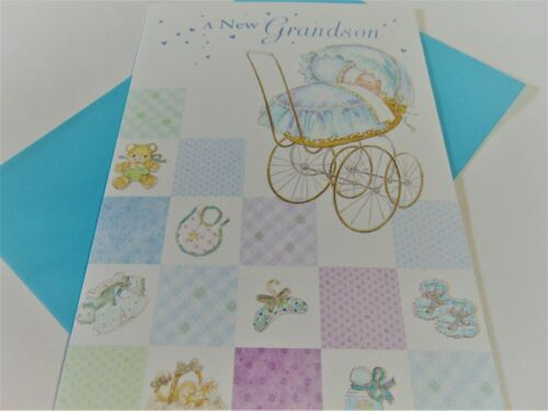 A New Grandson.........Congratulations Greetings Card