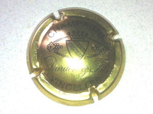 Capsule de Champagne DURDON et Fils 3. or et noir