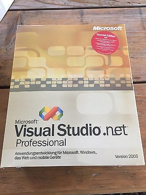 Learned Microsoft Visual Studio .net 2003 Professional Spezial Edition Mit Mwst-rechnung Perfect In Workmanship Software
