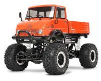 Tam58414 Tamiya Mercedes-benz Unimog 406 1/10 4x4 Crawler Truck