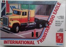 AMT 629 International Transtar 4300 Eagle Cab and Chassis Plastic Model Kit 1/25