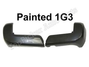 Rear Bumper End Painted 1G3 Magnetic Gray NO Sensor Hole Pair For TACOMA 16-20