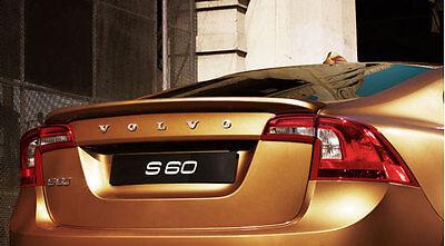 Genuine Volvo 2011-2014 S60 Rear Spoiler OEM OE Color code 711 Silver