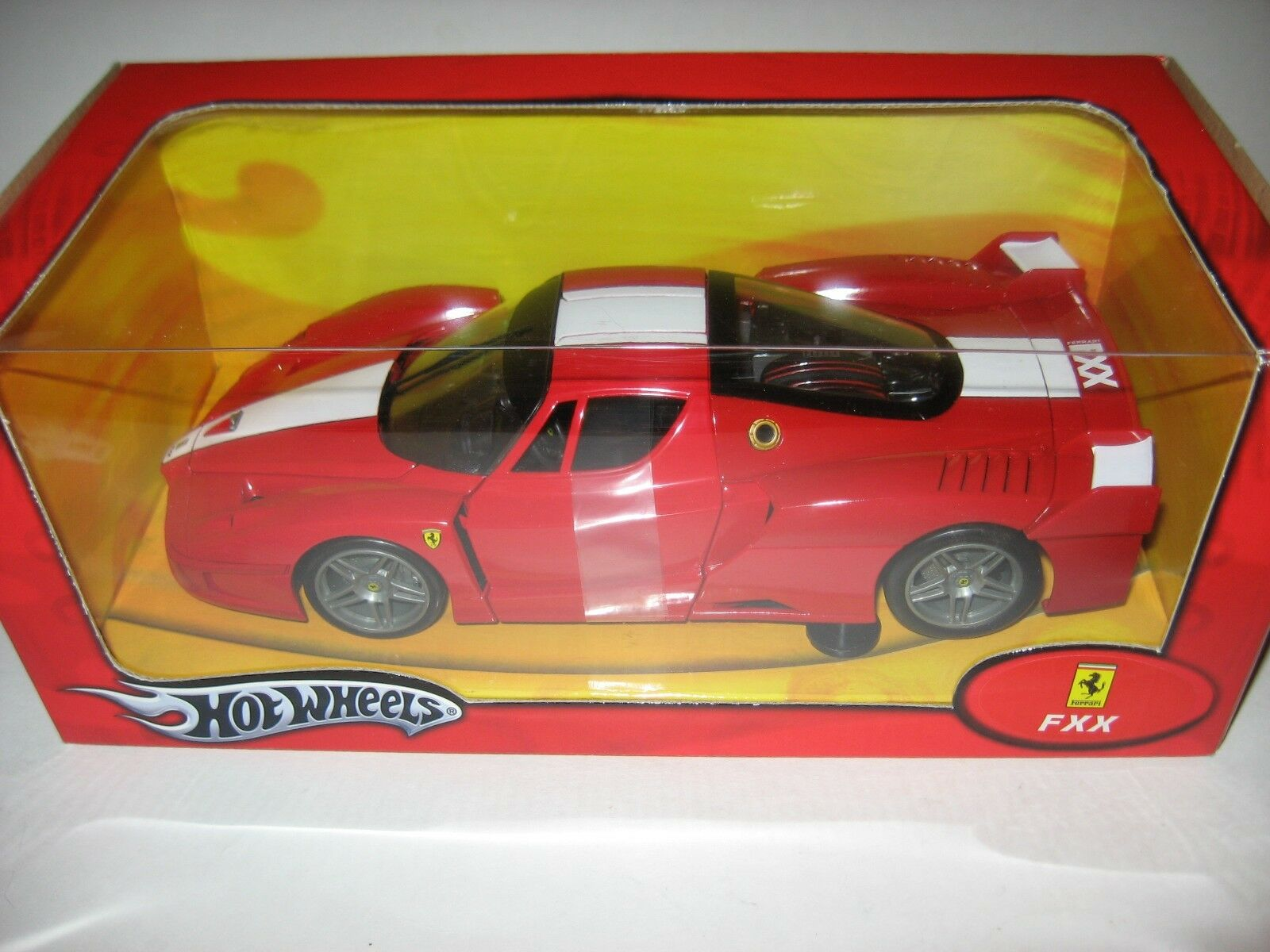 2005 Ferrari FXX Súper Súper Súper Coche Hot Wheels réplica diecast escala 1 18 Modelo De Coche Nuevo 1c24c7