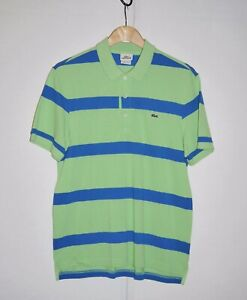 Lacoste-Classic-Fit-Short-Sleeve-Polo-Shirt-5191L-100-Cotton-sz-4-USED