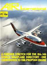 AIR ENTHUSIAST INTERNATIONAL MAGAZINE 1987 JUN - BAE 146, GENERAL ELECTRIC UDF