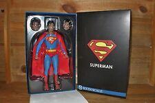 "SUPERMAN - DC Comics version Sideshow - Man of Steel - 1/6 12"" Sideshow - NIB"