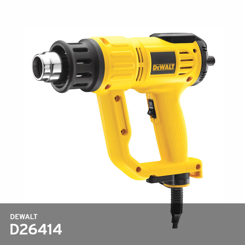 DeWALT D26414 Hot Air Gun With LCD Display 2000W -220 240V- Nozzle 2ea Included