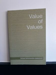 Value-of-Values-Swami-Dayananda-LIKE-NEW