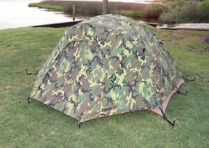 Image is loading USMC-2-Man-Tactical-Combat-Tent-Rain-Fly- & USMC 2 Man Tactical Combat Tent Rain Fly Repair Kit Eureka ...
