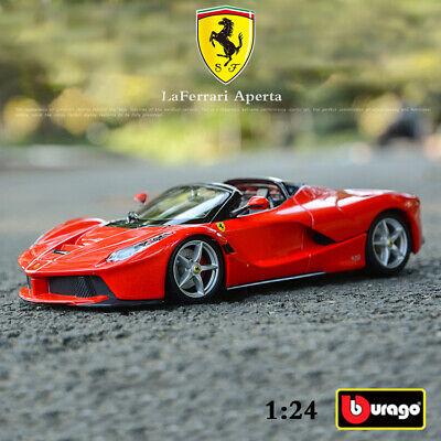 Ferrari LaFerrari aperta 70th Anniversary Collection rojo 1:24 Bburago