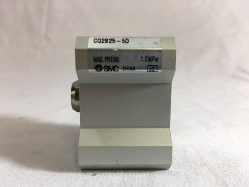 LOT//2* NEW* SMC PNEUMATIC CYLINDER COMPACT DOUBLE ACTING CQ2B25-5D