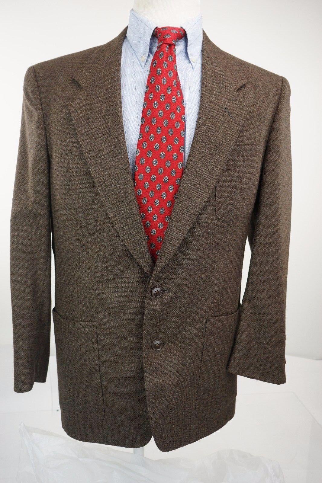Christian Dior Monsieur Braun Nailhead Sport Coat Blazer Größe 41R 2 button
