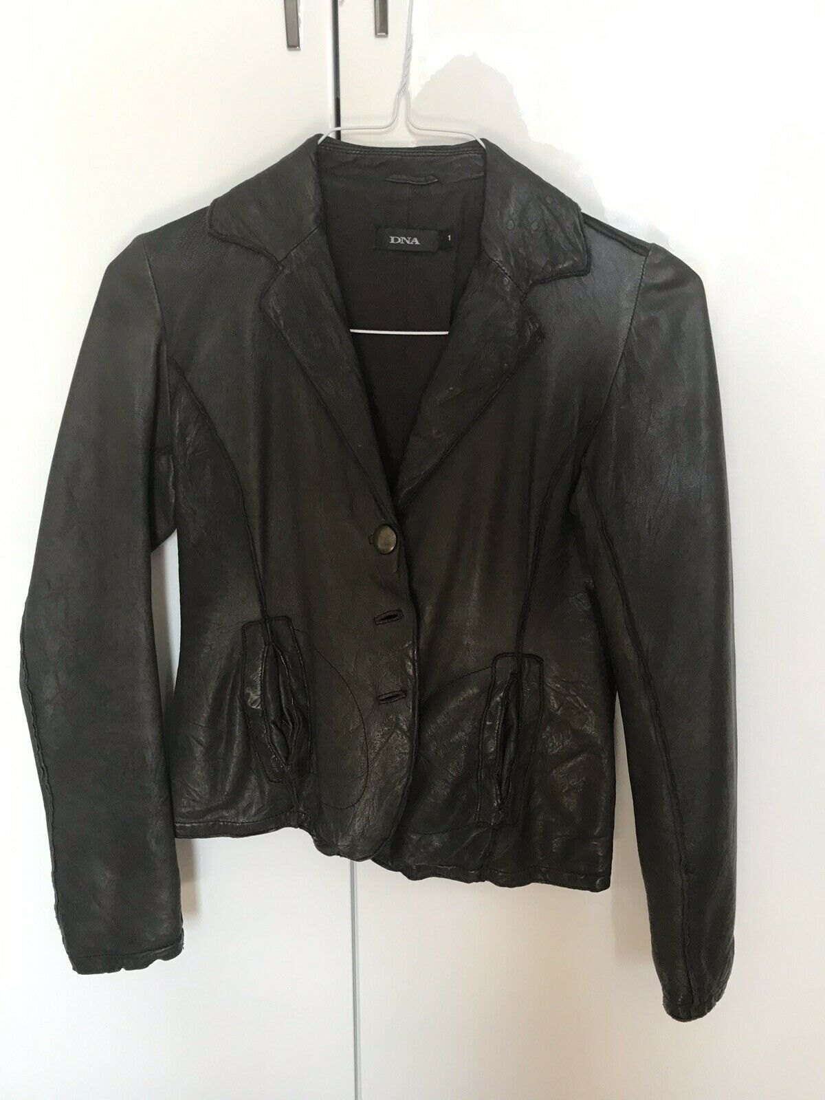 DNA leather jacket Brown
