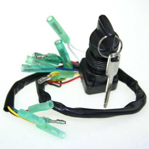 Ignition Switch Assy 703-82510-43-00 for Yamaha Outboard Motor Control Box /& Key
