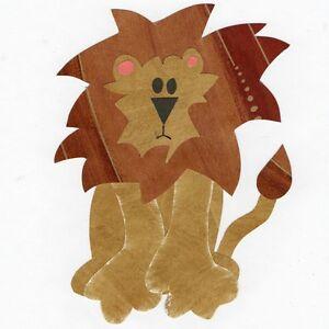 Lion Quilt Applique Pattern Template Jungle Animal
