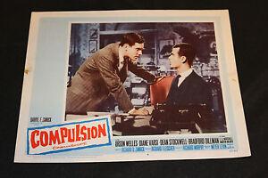 1959 Compulsion Lobby Card 59/83 #4 Dean Stockwell (C-6)