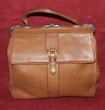 50er 60er true Vintage LEDER Tasche Henkeltasche 50s 60s Leather BAG SATCHEL MOD