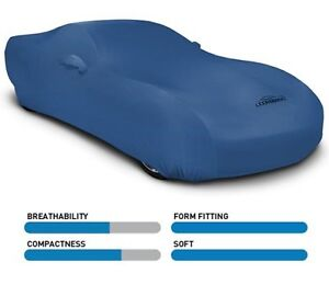 Synergy Green Satin Stretch Coverking Custom Car Cover for Select BMW 3.0CS Models