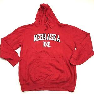 Nebraska Cornhuskers Hoodie Sweater Pullover Size Med Sweatshirt Sewn On Stitch