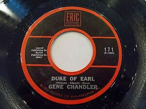 Gene-Chandler-Duke-Of-Earl-Check-Yourself-45-1962-Eric-Reissue-Vinyl-Record