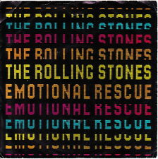 "THE ROLLING STONES : Emotional Rescue 7"" RSR EMI RSR 105 UK 1980"