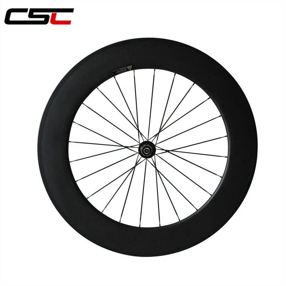 23mm Width Light 88mm Clincher Carbon fiber bicycle wheelset 1750g only