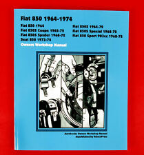 Fiat 850 Owners Workshop Manual New
