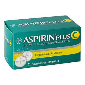 ASPIRIN plus C Brausetabl. 20St PZN 01894063