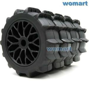 4pcs-New-1-8-RC-Paddles-Tires-Snow-Sand-Buggy-tyres-120mm-amp-1-8-Wheels-Hex-17mm