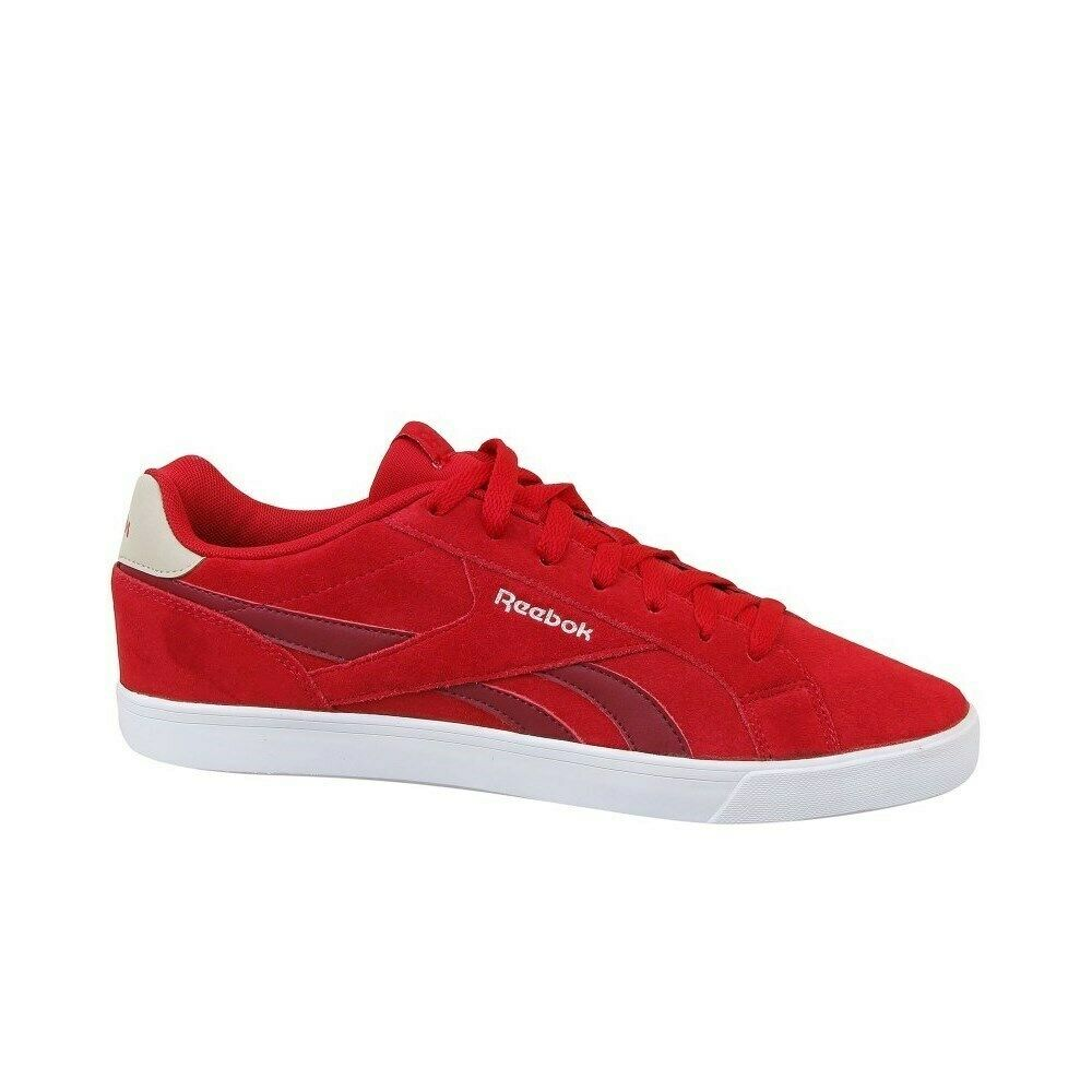 newest c7e46 17174 Reebok Royal Complete 2LS CM9632 red halfshoes
