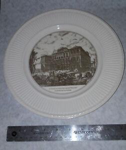 Wedgwood China Plate The Barberini Palace Scenes of Italy Piranesi Plates new