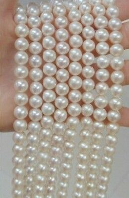BEAUTIFUL 100 INCH AA+ 9-10MM AKOYA WHITE PEARL NECKLACE