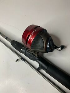 "5'6"" Zebco 404 Combo Red/Silver Reel Great For Bass, Bream, Catfish, Crappie"