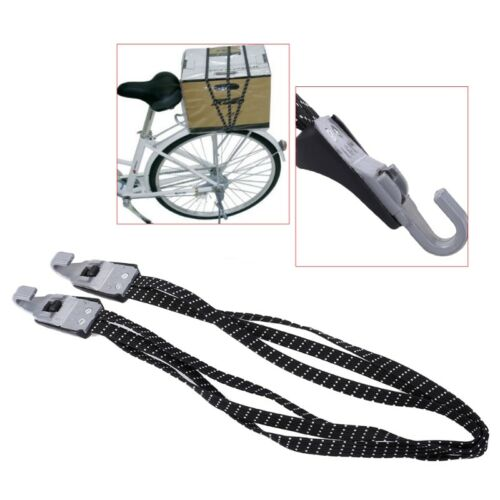 Bicycle Fixed Rope Elastic Luggage Rubber Band 3in1 Strap Hook Cycling Stacking