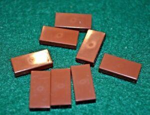 BLACK 1x2 Smooth Finishing Tile Brick Bricks  ~ Lego  ~ NEW 8